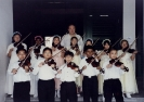 Our young violinists perform